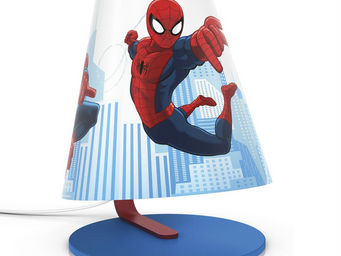 Philips - disney - lampe de chevet led spiderman h24cm | lum - Lampe À Poser Enfant
