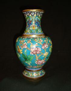 Tresorient - cloisonné - Vase Décoratif