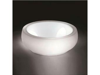 TossB - chubby side table light - Objet Lumineux