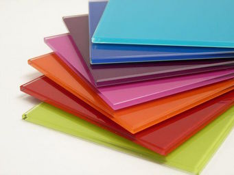 RM  RevMural - verre color� - T�l�viseur �cran Miroir