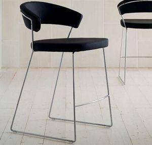 Calligaris - chaise de bar new york design italienne de calliga - Chaise Haute De Bar