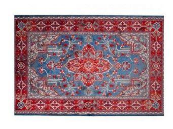 WHITE LABEL - tapis icon rouge de dutchbone - Tapis Berb�re