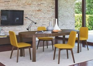 Calligaris - table repas extensible ovale atelier de calligaris - Table De Repas Ovale