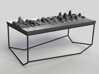 MALHERBE EDITION - table echo - Table Basse Forme Originale