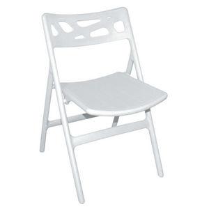 COMFORIUM - lot de 6 chaises de terrasse pliables de coloris b - Chaise De Jardin Pliante