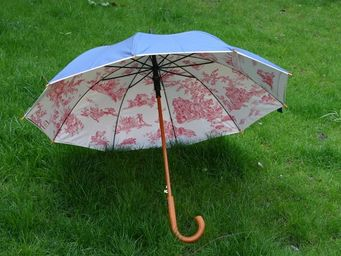 DE JOUY - bleu clair  - Parapluie
