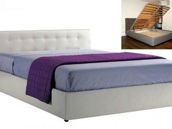 STYLEHOUSE  - lit coffre seyun haut de gamme avec tête de lit, c - Lit Coffre