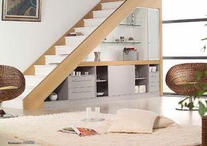 HEXA -  - Rangement Sous Escalier