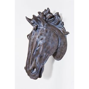 KARE DESIGN - decoration murale head horse antico - Trophée De Chasse