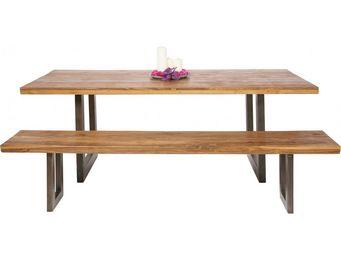 Kare Design - table factory bois 160x90 - Table Pique Nique