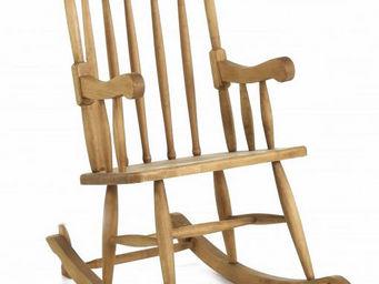 Couleurs Des Alpes - rocking-chair en pin massif miel - Rocking Chair
