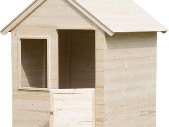 MOOKIE TP Toys - cabane jardin forest en bois - Maison De Jardin Enfant