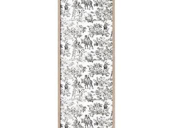 WHITE LABEL - classeur à rideaux bois - curtain n°8 - l 38 x l 3 - Armoire À Rideaux