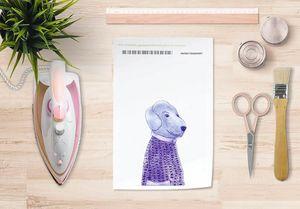 la Magie dans l'Image - papier transfert mon petit chien - Transfert