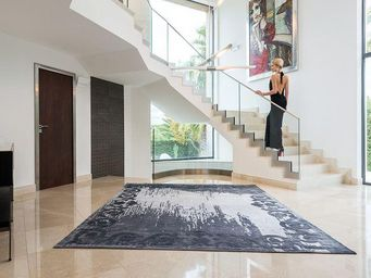 EDITION BOUGAINVILLE - augustin arty anthracite - Tapis Contemporain
