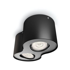 Philips - noir - Plafonnier