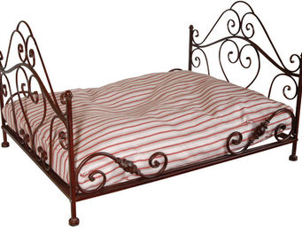Antic Line Creations - lit chien en fer forgé - Lit Pour Chien