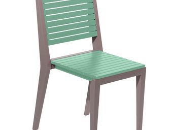 City Green - chaise de jardin empilable portofino - 42.4 x 52.3 - Chaise De Jardin Empilable