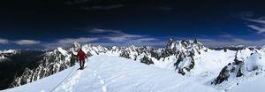 Nouvelles Images - affiche mont blanc du tacul - Affiche