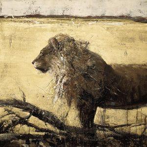 Nouvelles Images - affiche lion - Affiche