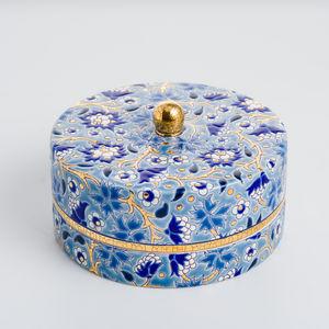 EMAUX DE LONGWY 1798/FRAGRANCE - tradition - Coupe À Caviar