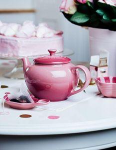 Le Creuset - rose quartz - Théière