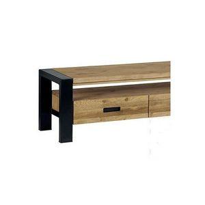Mathi Design - meuble tv pinwood - Meuble Tv Hi Fi