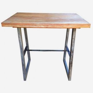 Mathi Design - table haute loft - Mange Debout