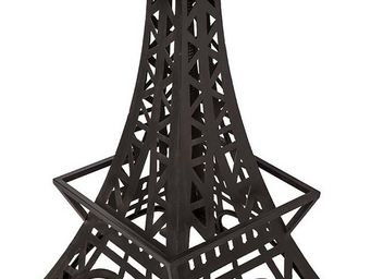Antic Line Creations - table bistrot pieds tour eiffel - Table Bistrot