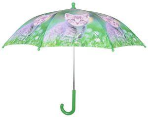 Esschert Design - parapluie chaton en métal et bois - Parapluie