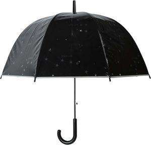 Esschert Design - parapluie transparent motif étoiles - Parapluie