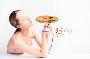 Raynaud - trésor fleuri - Plat À Tarte Sur Pied