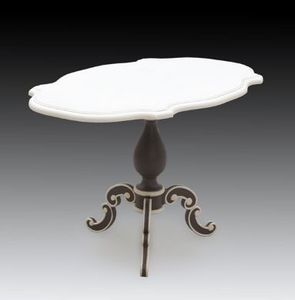 Marie France - cocktail table charlotte - Table Basse Ovale