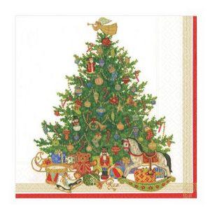 CASPARI - oh christmas - Serviette De Noël En Papier