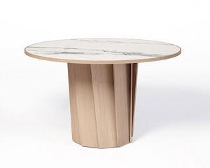DASRAS - volute-- - Table De Repas Ronde