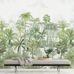 ISIDORE LEROY - amazone naturel - Papier Peint Panoramique