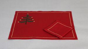 Noel - sapin - Set De Table De Noël