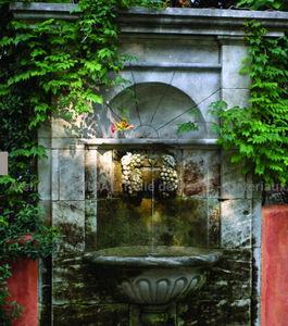 Atelier Alain Bidal - vigne - Fontaine Murale D'extérieur