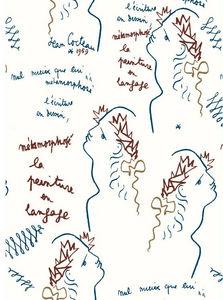 LELIEVRE - ecriture - Papier Peint