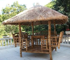 paillote bambou -  - Paillotte