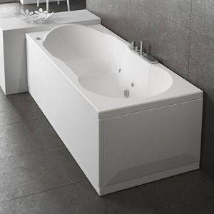Grandform - baignoire romanza sans hydromassage - mesurage: 170x70 - version: droit - taps: - Baignoire Balnéo