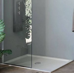 Grandform - receveur de douche super slim grandform 170x70 en 2 couleurs - couleur: gris - Receveur De Douche À Poser