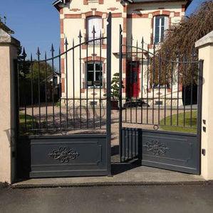 Reignoux Creations - po104 sp - Portail De Jardin