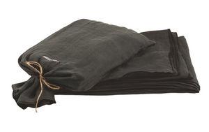 Maison De Vacances - charbon voile de lin - Couvre Lit