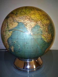 La comtesse g -  - Globe Terrestre