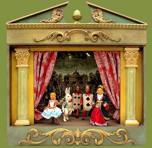 Sartoni Danilo Ravenna Italy - alice in wonderland theatre - Théâtre De Marionnettes