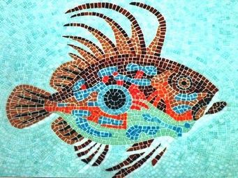 Atelier Andamento Mosaique - st pierre - Carrelage De Piscine