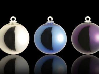 Centre International d'Art Verrier - argentées - Boule De Noël