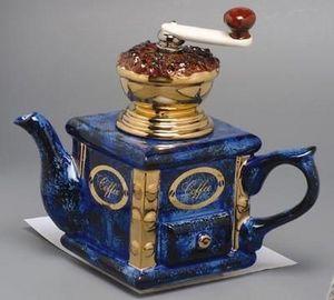 Carters Ceramic Designs - coffee grinder - Théière