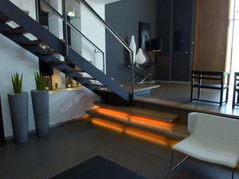 CasaLux Home Design - gr�s c�rame focco gris - Carrelage De Sol Grand Format